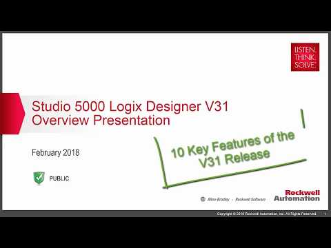 Studio 5000 V31 – What Do I need to Know? - Rumsey