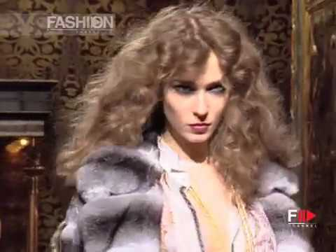 ROBERTO CAVALLI Full Show Fall Winter 2004 2005 Milan by Fashion Channel