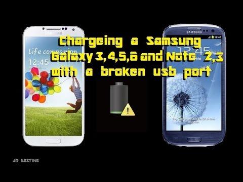 Charge your samsung s3 s4 s5 note 2 3 4 with a broken usb port that charge your samsung s3 s4 s5 note 2 3 4 with a broken usb port that wont charge or sync greentooth Gallery