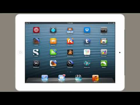 How to Hide the Safari Bar on an iPad : Tech Yeah! - YouTube