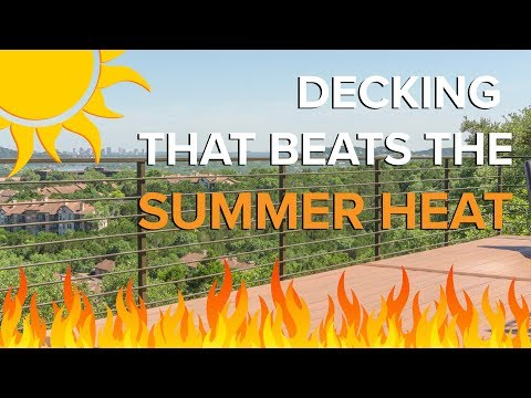 """The """"Coolest"""" Decking Product: Temperature Test - TimberTips"""