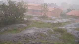 heavy rain video test of sony a5100 50p 28m and i