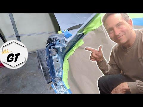 Porsche 911 Door Jamb Surprises & DIY Repair