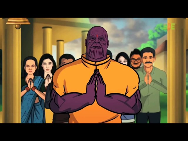 Avengers Infinity War: THANOS IN INDIA