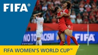HIGHLIGHTS: China PR v. Netherlands - FIFA Women's World Cup 2015