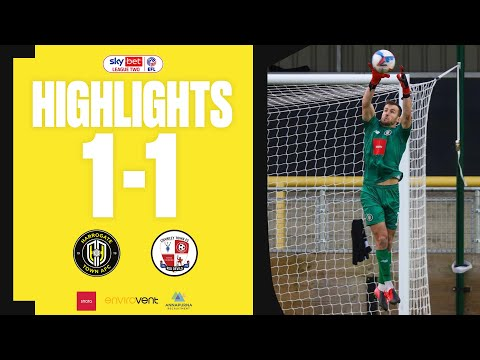 Harrogate Crawley Town Goals And Highlights