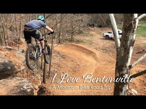 I Love Bentonville – MTB Road Trip