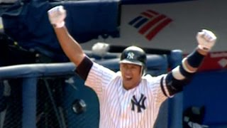 CLE@NYY: A-Rod hits a walk-off homer with two outs