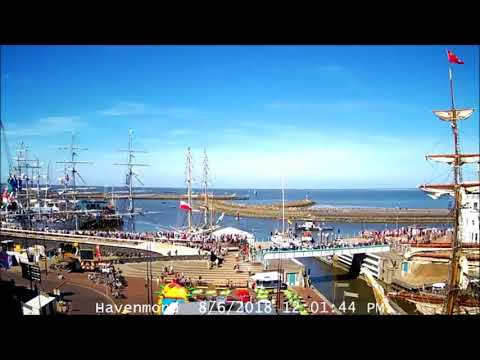 Tall Ships Races Harlingen 2018 | Sail-Out (timelapse)