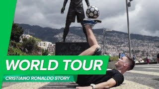 Story of Cristiano Ronaldo - Joltter visits Madeira, the home of CR7 skills