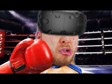 BOXING WITH SQUIDDY - Thrill Of The Fight VR