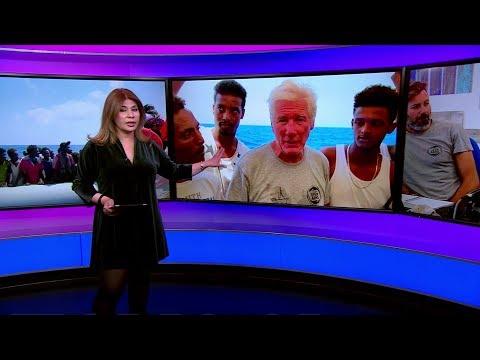 المهاجرون في قلب مشاحنة بين الممثل الأمريكي ريتشارد غير ووزير الداخلية الإيطالي ماتيو سالفيني  - 18:56-2019 / 8 / 13