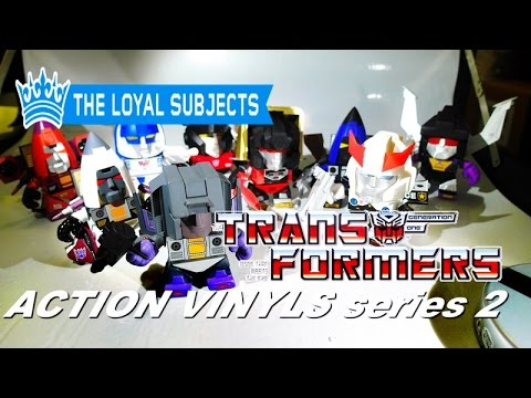 THE LOYAL SUBJECTS vs. TRANSFORMERS series 2 with INTERCHANGEABLE PARTS?!?