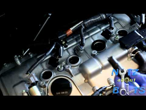 2010-2015 Toyota Prius Spark plugs remove and install HD