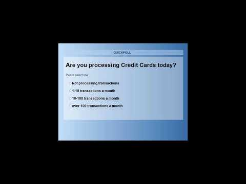 Accepting Credit Card Payments in Costpoint | Webinar
