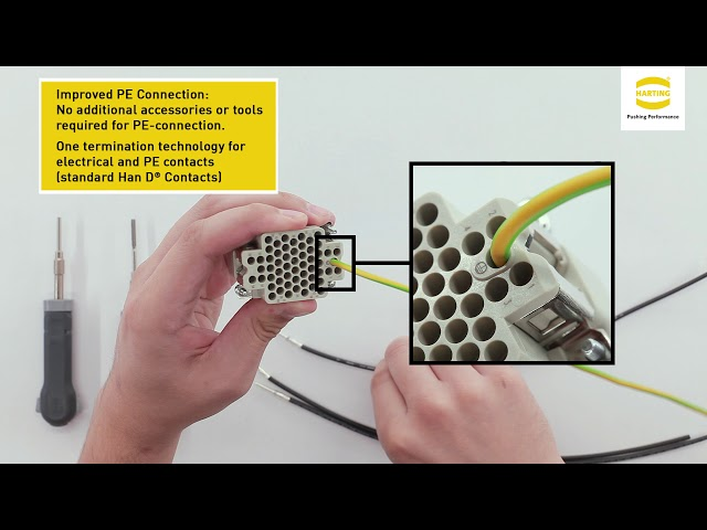 HARTING Han® DDD – Assembly and removal instruction