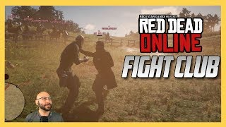Red Dead Online Fight Club! - Red Dead Redemption 2