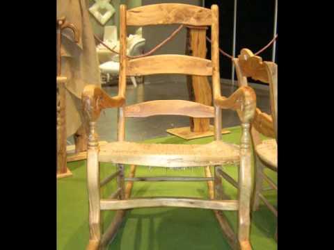 Muebles de madera de olivo feria h bitat valencia 2011 for Muebles jardin valencia