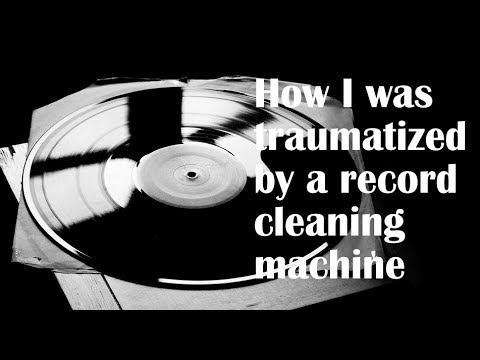 How I was traumatized by a record cleaning machine #vinyl #LPs #turntables