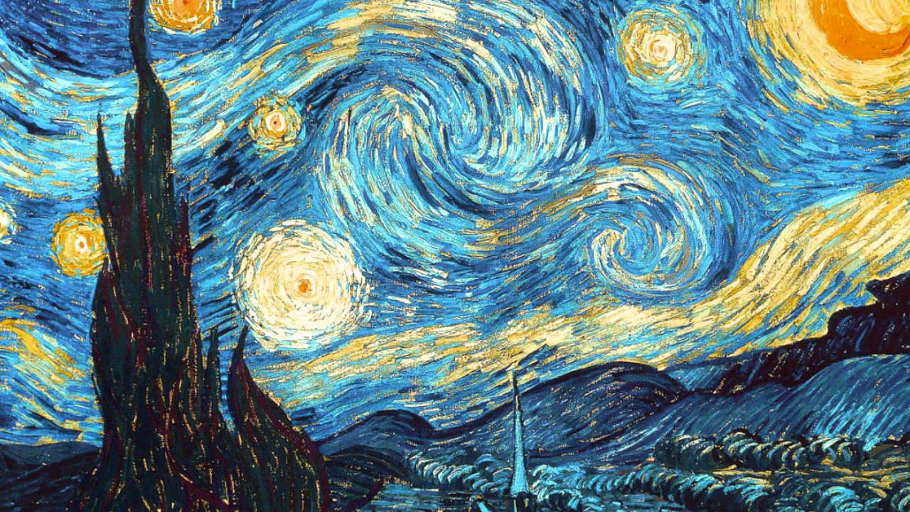 Il volo notte stellata the swan hd youtube for Van gogh notte