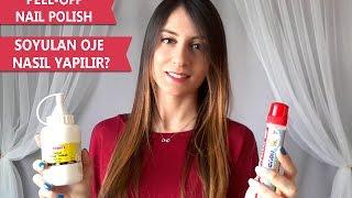 DIY Peel Off Nail Polish | Kendin Yap - Soyulan Oje Nasıl Yapılır?