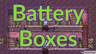 How to make a Battery Box : Tutorial nuggets : Oxygen not included