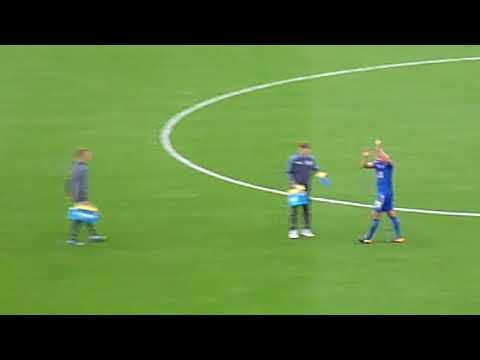 Leicester City Vs. Brighton - Post game celebrations
