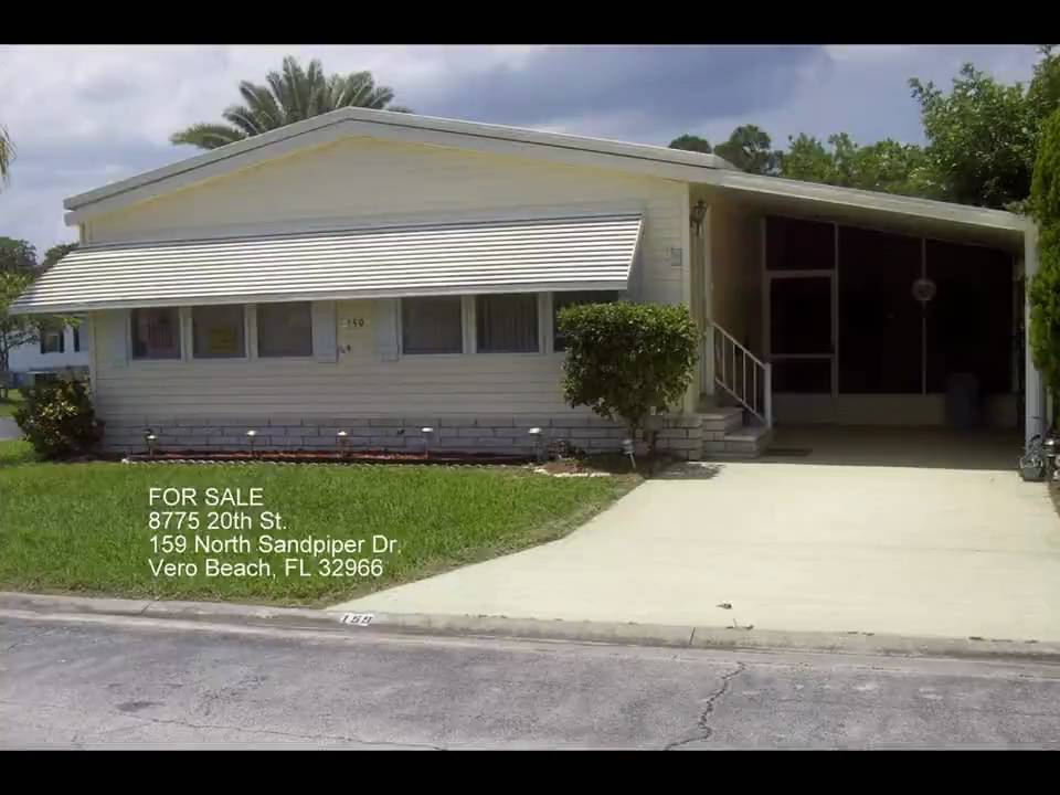 Vero Beach Florida Manufactured Home For Sale Youtube
