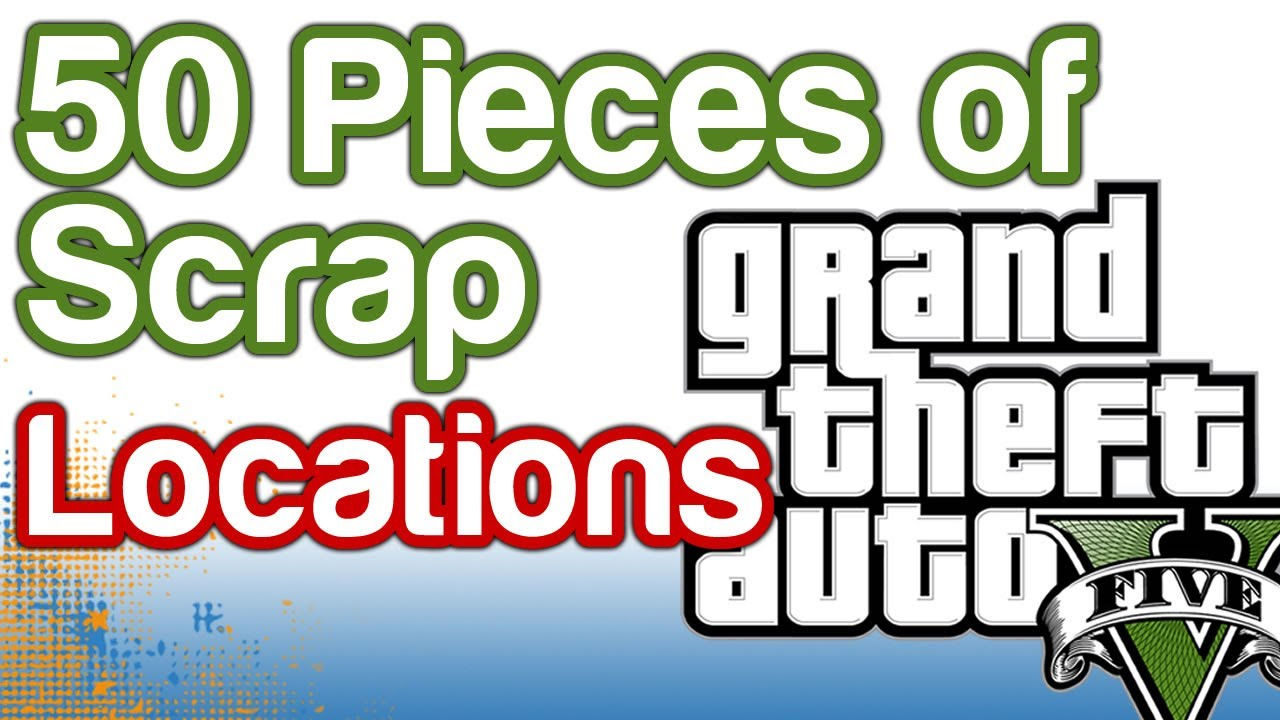 Gta  Letter Loactions