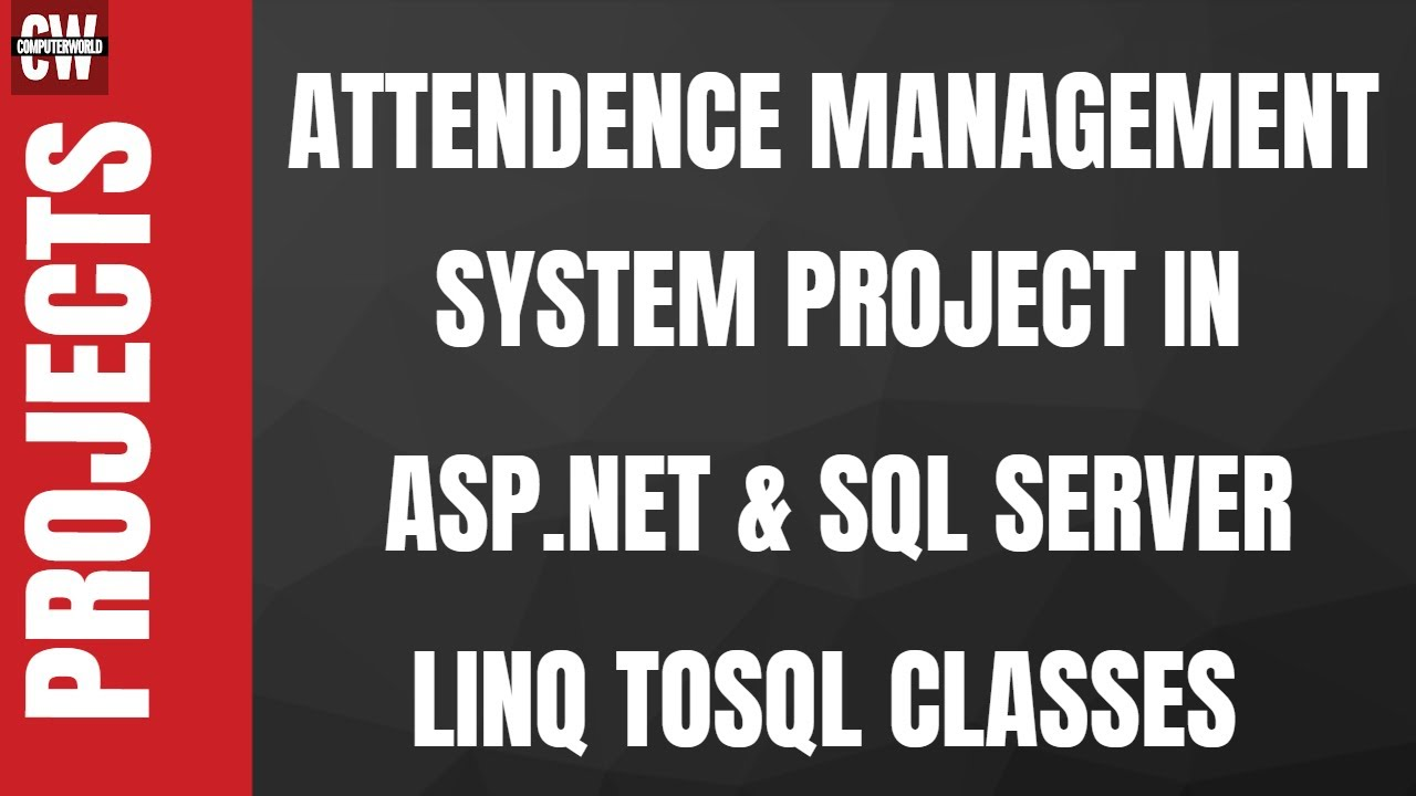 Attendance Management System Projects In Asp Net Complete Youtube