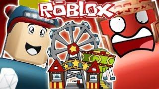 DanTDM Roblox - BATTLE SIMULATOR - MY OWN THEME PARK!! Le chariot de mines de diamant