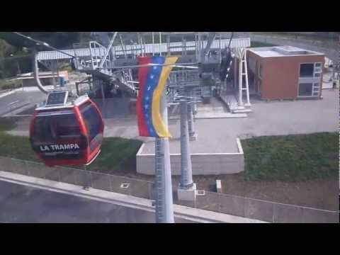 en el metro cable en merida-venezuela:)