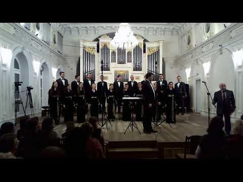Трансляция концерта ансамбля хоровой музыки «Altro Coro» (РАМ им. Гнесиных, рук. А. С. Рыжинский)