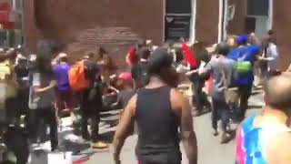 Charlottesville car ramming attack leaves one dead [viewer discretion]