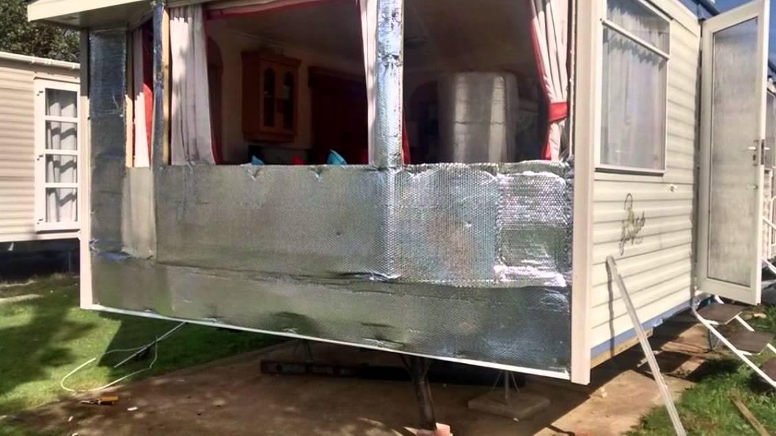 Sns Caravans & Leisure Homes - Static Caravan Cladding & Double Glazing