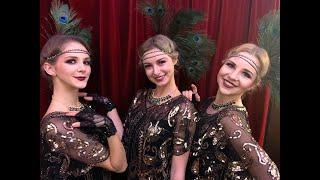 Roaring 20`s wild charleston - flapper show / Charlestonový večírek
