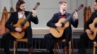 Mēla Guitar Quartet perform Black Opal by Phillip Houghton
