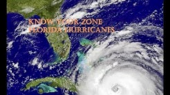 Know Your Zone  Florida Hurricanes