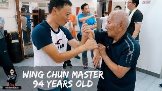 94 Year Old Wing Chun Grandmaster (Ip Chun) - Martial Diaries_013