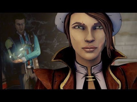 """Tales From The Borderlands (Season 1,Episode 1) """"Zero Sum"""" PC Game Movie 1080p HD"""