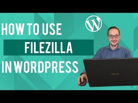 How to use filezilla with Wordpress Tutorial thumbnail