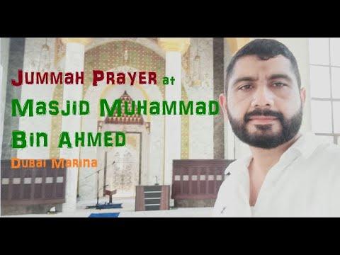 Jummah Prayer at Dubai Marina Mosque with xafar 2021