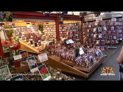 Amsterdam Flowermarket To Rembrandtplein (7.21.13 - Day 1116)