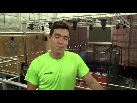 Squash: James, Nick, Peter & Miguel Talk Canary Wharf