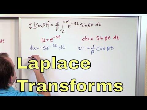 03 - Deriving the Essential Laplace Transforms, Part 2