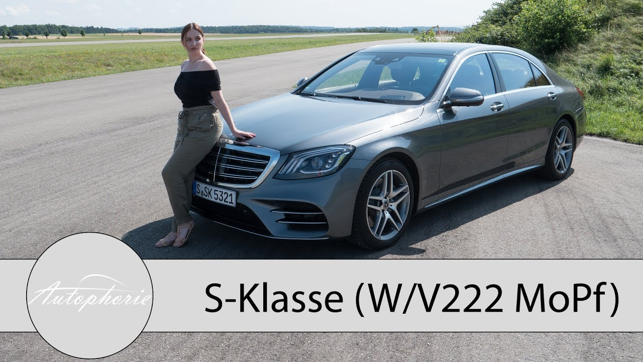 Neuer Mercedes-Benz S 500 (W/V 222 MoPf) Fahrbericht / Reihen-Sechszylinder Comeback - Autophorie