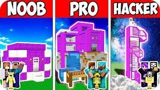 FAMILY SMART PORTAL MANSION! Minecraft: NOOB vs PRO vs HACKER!