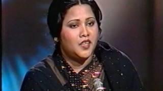 """A beautiful radio Ghazal by Mehnaz """"ab dekhiye kya haal hamara ho sahar tak"""""""