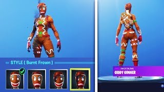 Merry Christmas! PLAYING WITH THE FORTNITE BATTLE ROYALE COOKIE SKIN