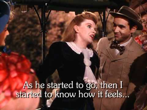 The Trolley Song - Karaoke - Judy Garland - Lyrics - Stereo - Instrumental only